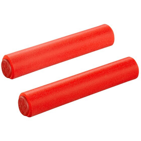 Supacaz Siliconez Grips, red